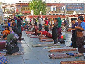 Nepal-Tibet reis pelgrims