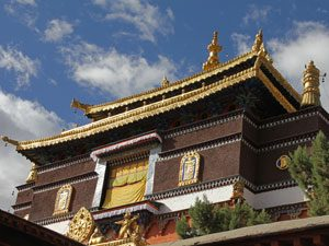 Nepal-Tibet reis - Shigatse klooster