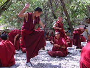 Nepal-Tibet reis - monniken klooster