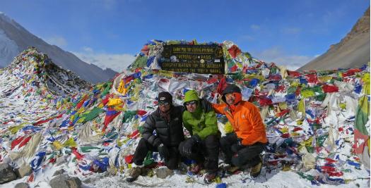 Nepal reis - bergtop