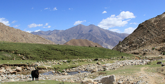 nepal-Tibet reis - panorama