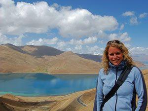 Nepal-Tibet reis - Yamdrok Tso