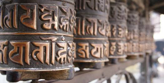 Nepal reis - gebedsmolens