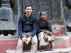 Bijzondere Nepal reis vrouwl