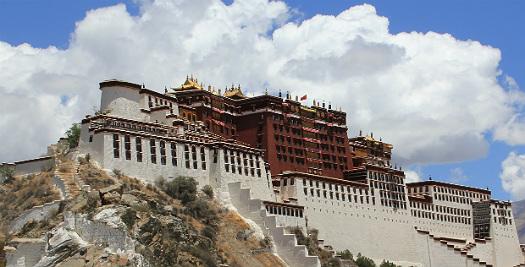 Nepal-Tibet reis - Potala