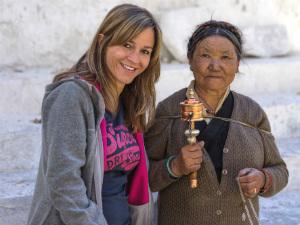 Nepal- Tibet reis - Tibetaanse vrouw