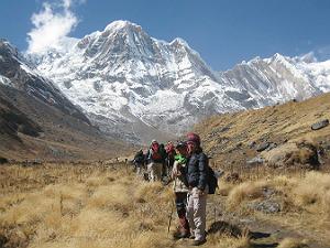 Annapurna basecamp trekking Nepal