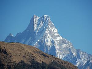 Annapurna basecamp trekking - fishtail