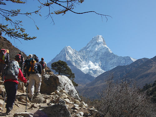 Wandelvakantie Nepal - Amadablam