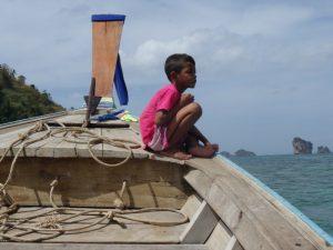 Thailand strand - Boot Ao Nang