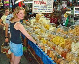 ThailandKids - markt Chiang Mai