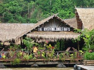 Thailand gezondheid met kinderen: junglerafts thailand