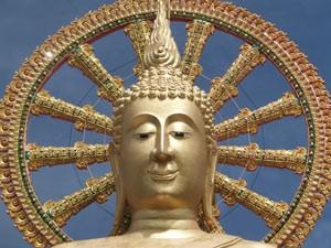 Actieve gezinsvakantie Thailand - gouden Buddha Ko Samui