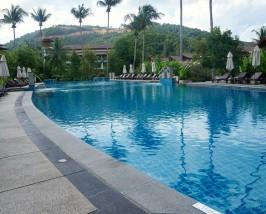 Mae Haad - hotel zwembad
