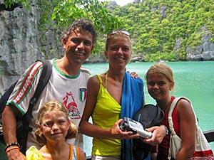 Thailand reisverslagen - Leonie gezin Thailand