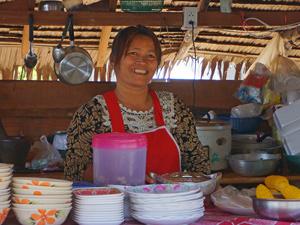 Khao Sok Thailand: Thaise vrouw