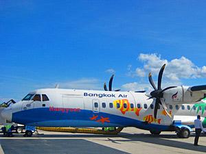 Thailand vervoer met kinderen: Bangkok Air