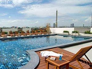 3 weken Thailand met kinderen - hotel met zwembad in Bangkok