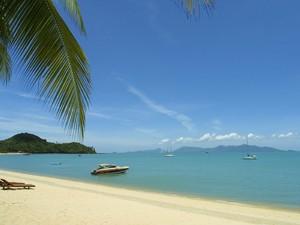 rondreis Thailand met tieners - strand Ko Samui