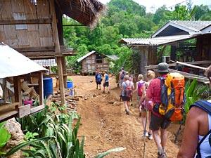 Trekking Chiang Mai met kinderen