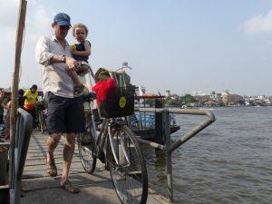 Familiereis door Thailand - fietsen door Bangkok