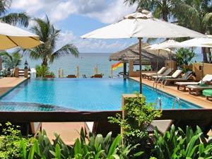 Thailand klimaat: zwembad Ko Samui