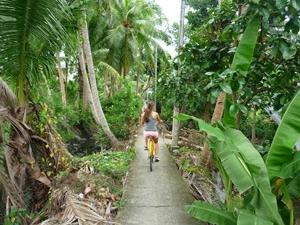 2 weken Thailand met kinderen: fietsen Bangkok