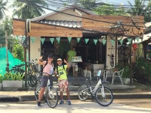 3 weken Thailand met kinderen - fietsen Ko Phangan