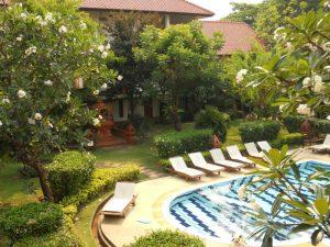 tokkelen Chiang Mai - zwembad