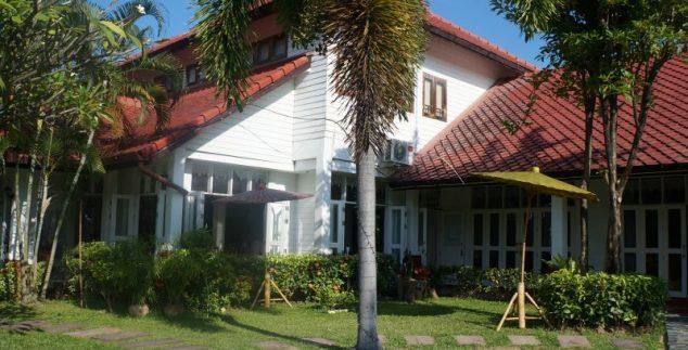 Chiang Mai met kinderen - receptie hotel
