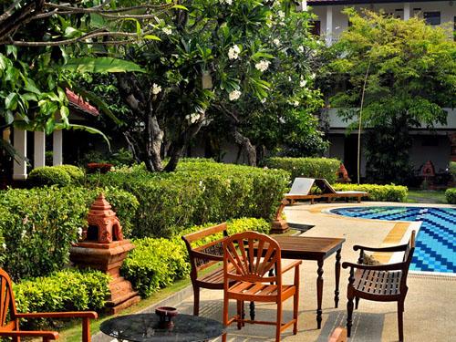Chiang Mai met kinderen - tropische tuin