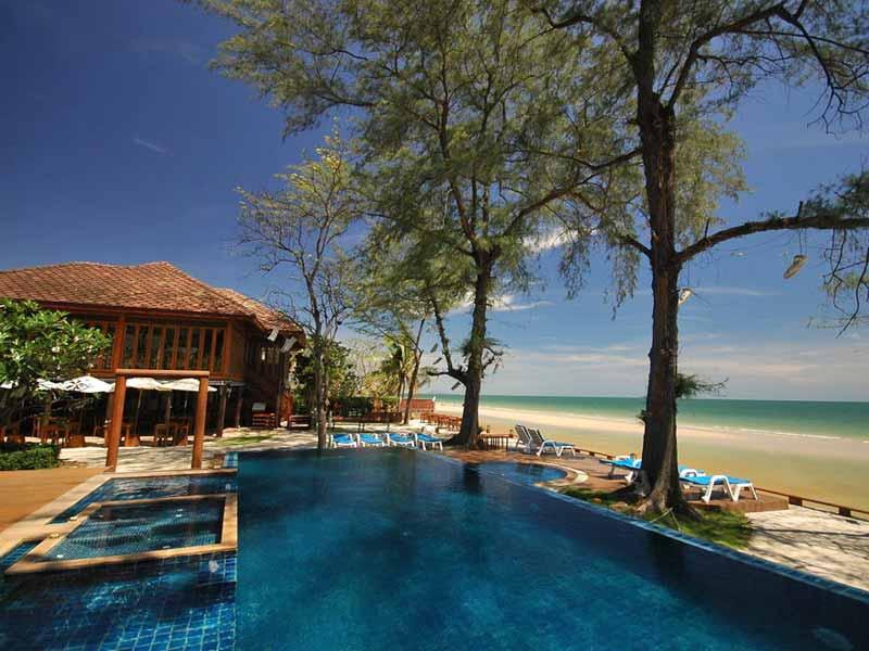 Hua Hin Thailand met kinderen - zwembad