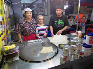Hua Hin Thailand met kinderen: night market