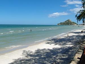 kerst rondreis Thailand: strand Hua Hin