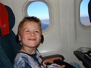 Thailand vervoer met kinderen: binnenlandse vlucht