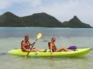 Actieve gezinsvakantie Thailand - kajak Ko Samui
