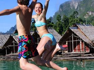 Actieve gezinsvakantie Thailand - Khao Sok met tieners