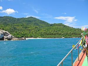 Ko Phangan Thailand: aankomst baai