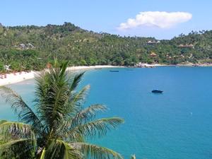 Witte stranden Ko Phangan