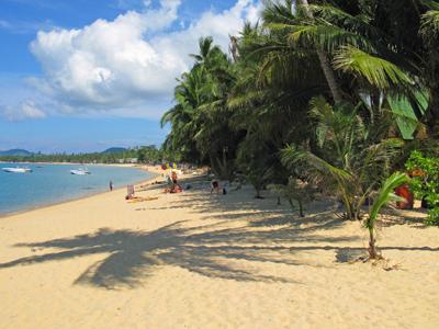 gezinsvakantie Thailand - strand Ko Samui