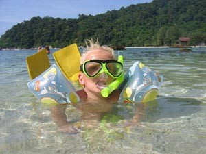 Ko Samui Thailand met kinderen - snorkelen