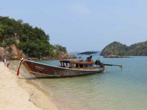 Thailand klimaat - longtailboot Thailand