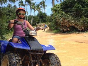 rondreis Thailand met tieners: quadrijden