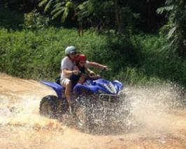 Ko Samui strand: quad rijden
