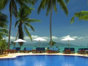 Jo Samui Thailand Kids - resort bophut zwembad