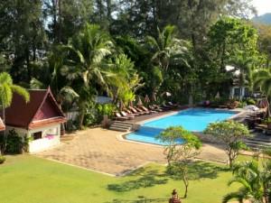 Ko Lanta Thailand met kinderen: zwembad familiehotel