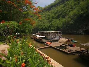 River Kwai Thailand met kinderen: hotel aan River Kwai