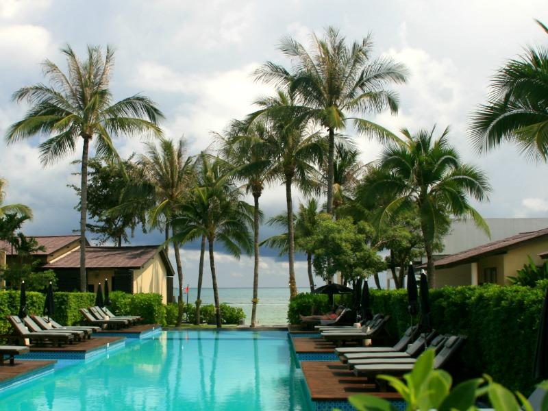 Jo Samui Thailand Kids - Chaweng hotel zwembad