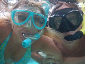 Chill met je duikbril