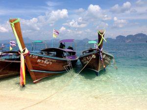 Familiereis door Thailand met kinderen - strand